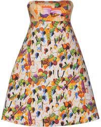 Stella Jean Short Dress - Green