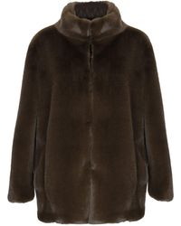 Anonyme Designers Faux Fur - Green