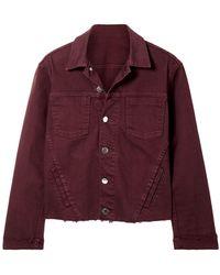 L'Agence Capospalla jeans - Multicolore