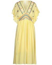 Care Of You Midi Dress - Yellow