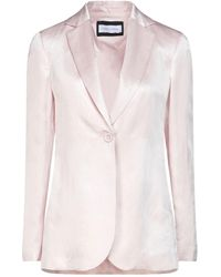 Caractere Suit Jacket - Pink