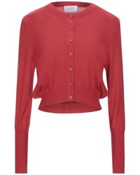 Snobby Sheep Wrap Cardigans - Red