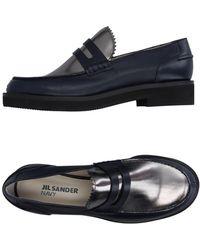 Jil Sander Navy - Loafers - Lyst