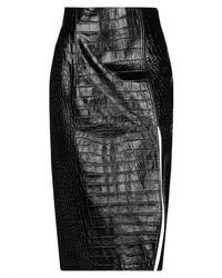 16Arlington 3/4 Length Skirt - Black