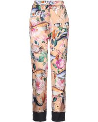 Shirtaporter Casual Pants - Multicolor