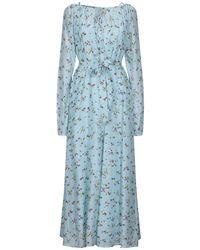 Essentiel Antwerp Long Dress - Blue