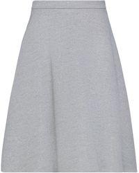 Cruciani Midi Skirt - Grey