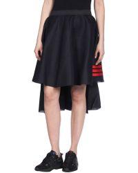 Y-3 3/4 Length Skirt - Black
