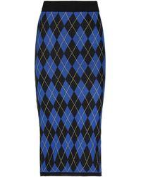 I'm Isola Marras 3/4 Length Skirt - Blue
