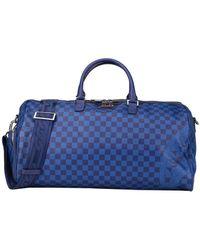 Sprayground Travel Duffel Bags - Blue