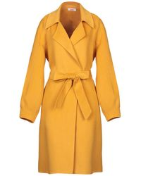 Blugirl Blumarine Overcoat - Yellow