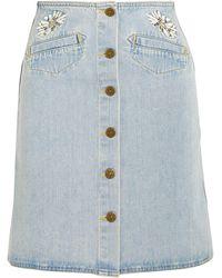 M.i.h Jeans Denim Skirt - Blue