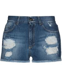 ME FUI Short en jean - Bleu
