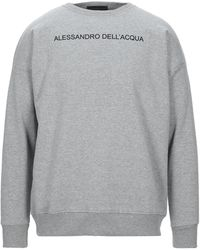 Alessandro Dell'acqua Felpa - Grigio