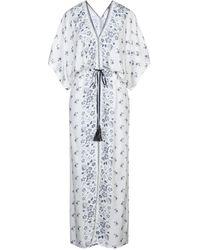 Pepe Jeans Long Dress - White