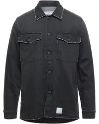 Department 5 Denim Shirt - Black