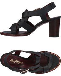 Avril Gau Sandals - Black