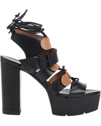 Vic Matié Sandals - Black