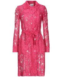 Relish Overcoat - Pink