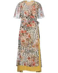 Massimo Rebecchi Knee-length Dress - Natural