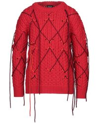 CALVIN KLEIN 205W39NYC Pullover - Rosso