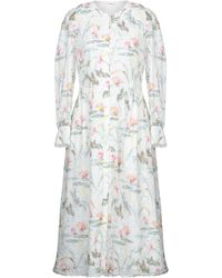Vilshenko Midi Dress - White