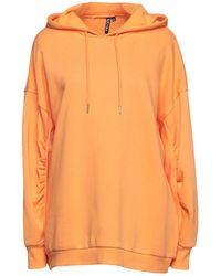 Pieces Sweatshirt - Orange