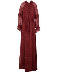 INTROPIA Long Dress - Red