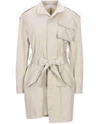 Soallure Overcoat - Natural