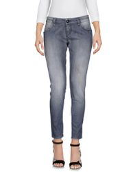Carolina Wyser Denim Pants - Gray