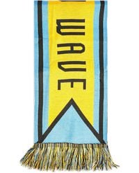 TOPSHOP Oblong Scarf - Yellow