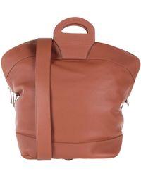 Jil Sander Travel Duffel Bag - Brown