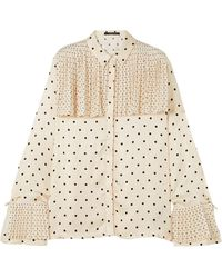 Mother Of Pearl Shirt - White