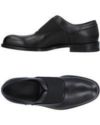 16a725f68b7 Lyst - Jil Sander Mirror Black Leather Loafer Shoe in Black for Men