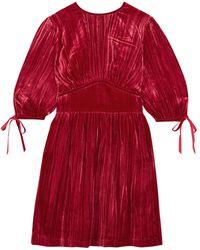 ALEXACHUNG Robe courte - Rouge