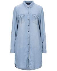 Vero Moda Kurzes Kleid - Blau