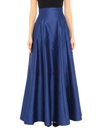 Hanita Long Skirt - Blue