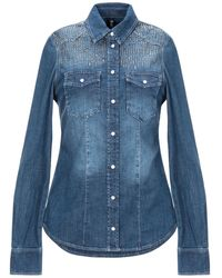 Liu Jo Denim Shirt - Blue