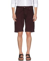 Minimum Bermuda Shorts - Purple