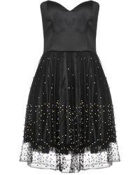 GIORGIO AJUTANTI Short Dress - Black