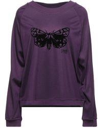 Class Roberto Cavalli Sweatshirt - Purple