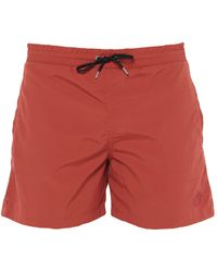 McQ Swimming Trunks - Red