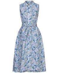 Engineered Garments 3/4 Length Dress - Blue