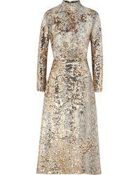 Emilia Wickstead Long Dress - Natural