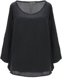 Femme By Michele Rossi Blusa - Negro