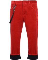 Armani Jeans 3/4-length Short - Red