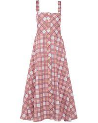 Roy Rogers Long Dress - Pink