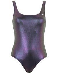 Nike One-piece Swimsuit - Purple