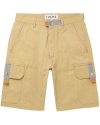 Loewe Bermuda Shorts - Natural