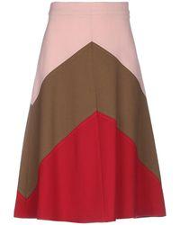 P.A.R.O.S.H. 3/4 Length Skirt - Pink